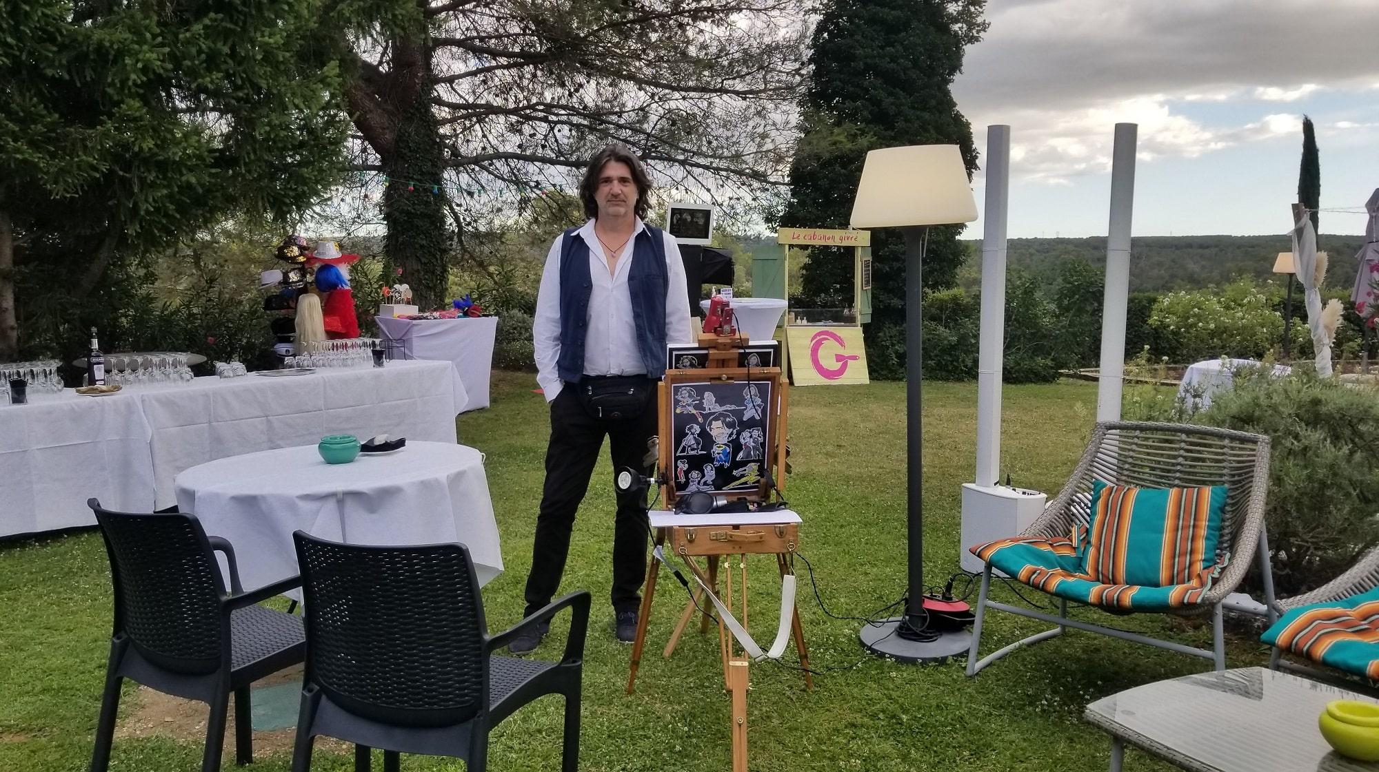Cocktail mariage au Mas de Fauchon