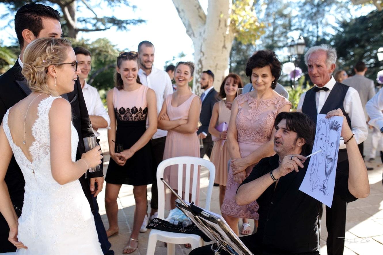 Le croquis des mariés
